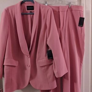 Eloquii Pink Suit, Size 16, New With Tags